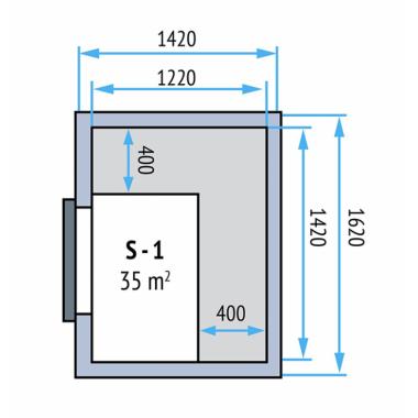 Kühlzellen Evo 100 S-1