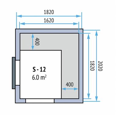 Kühlzellen Evo 100 S-12