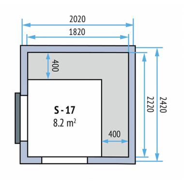 Kühlzellen Evo 100 S-17