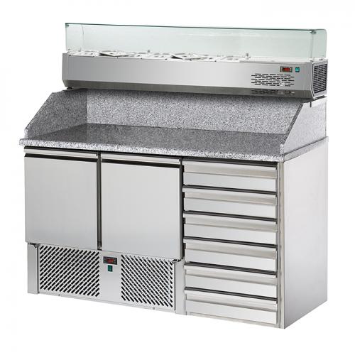Pizzakühltische SL02C6