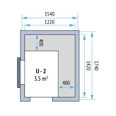 Tiefkühlzellen Evo 160 - U-2